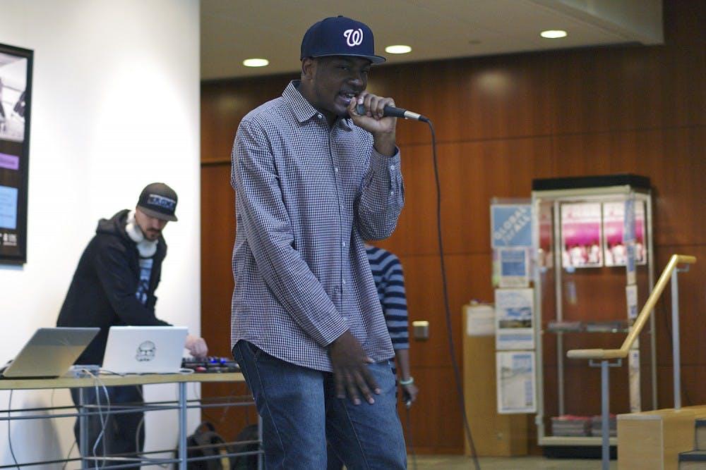 Zimbabwean hip-hop producer F.T.R. holds pop-up show
