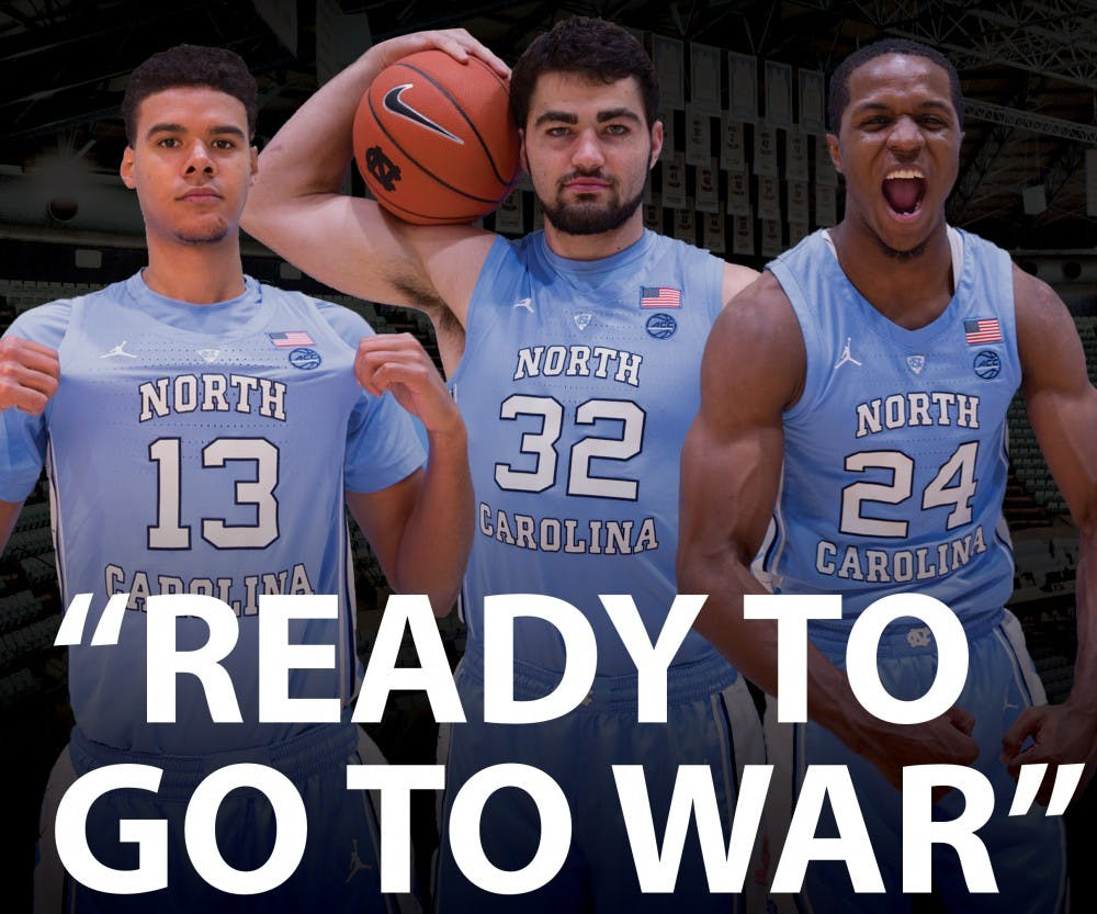 'The three stooges:' Kenny Williams leads veteran trio for UNC men's basketball