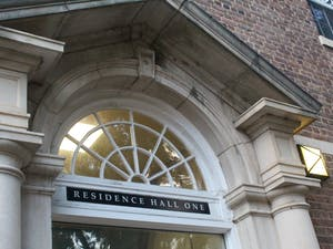 UNC's Board of Trustees overturned a moratorium on renaming buildings on Thursday, July 16, 2020. Aycock Residence Hall, pictured here on Tuesday, Nov. 10, 2020, will be renamed Residence Hall One.