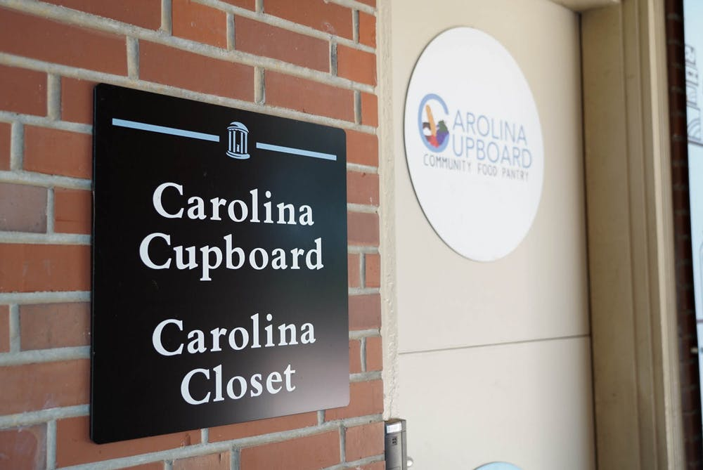 Located in the basement of Avery Residence Hall, Carolina Cupboard is an on-campus organization which provides food for students experiencing food insecurity.