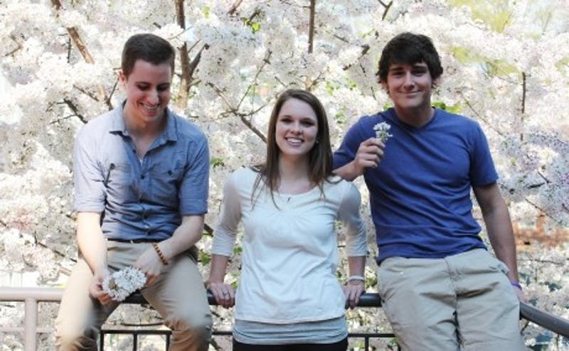 Thompson Wall, Kristin Hardin and Josh Ferguson were cast as extras in the movie The Hunger Games.