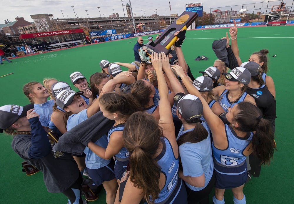 Relive the biggest moments in UNC field hockey and women's soccer's 2018 season
