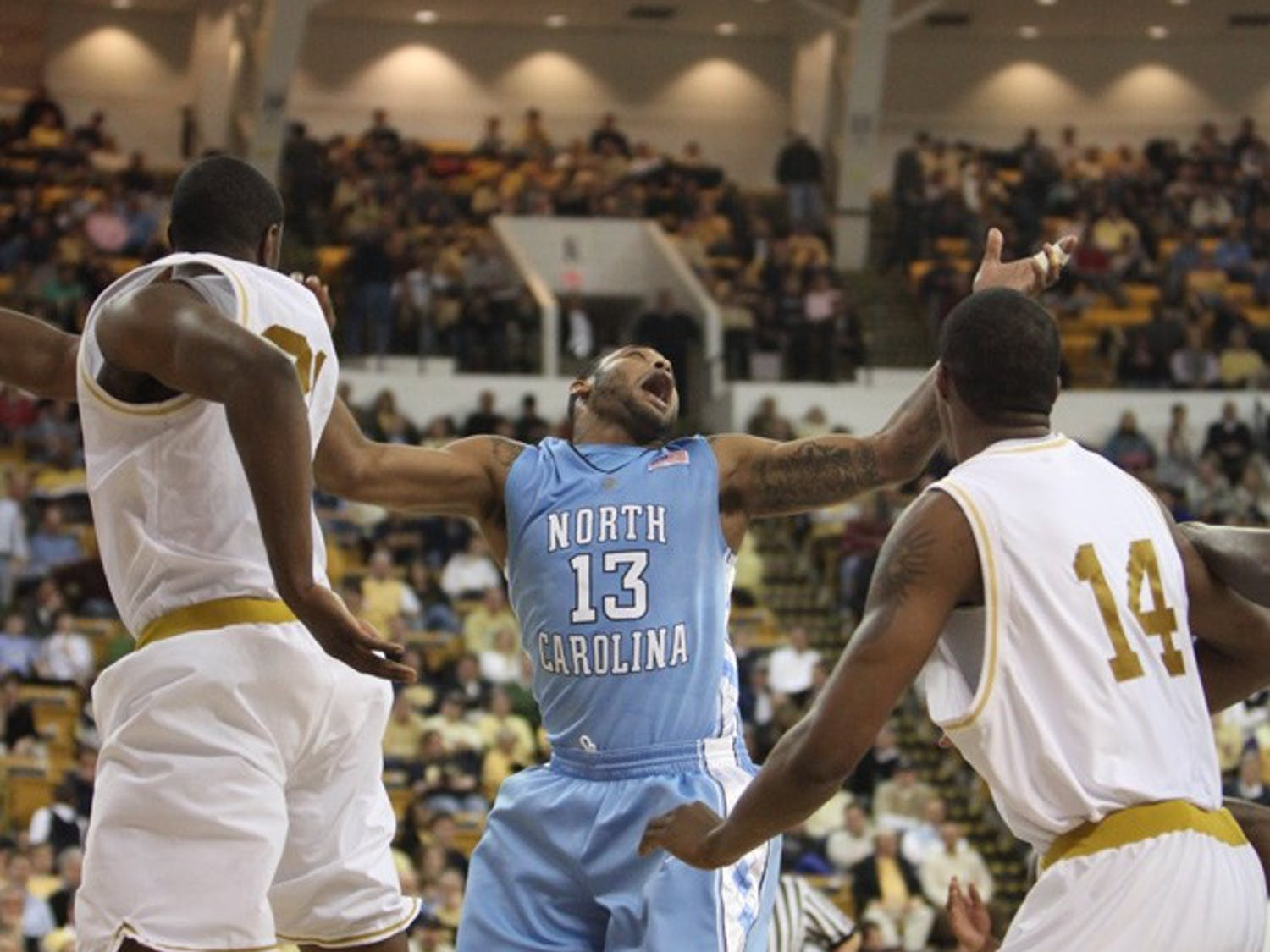 Will Graves has been UNC's go-to man behind the 3-point arc. DTH File/Phong Dinh