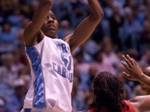 Jessica Breland has been UNC?s leading rebounder recently but went down with an ankle sprain in Sunday?s game against Maryland.