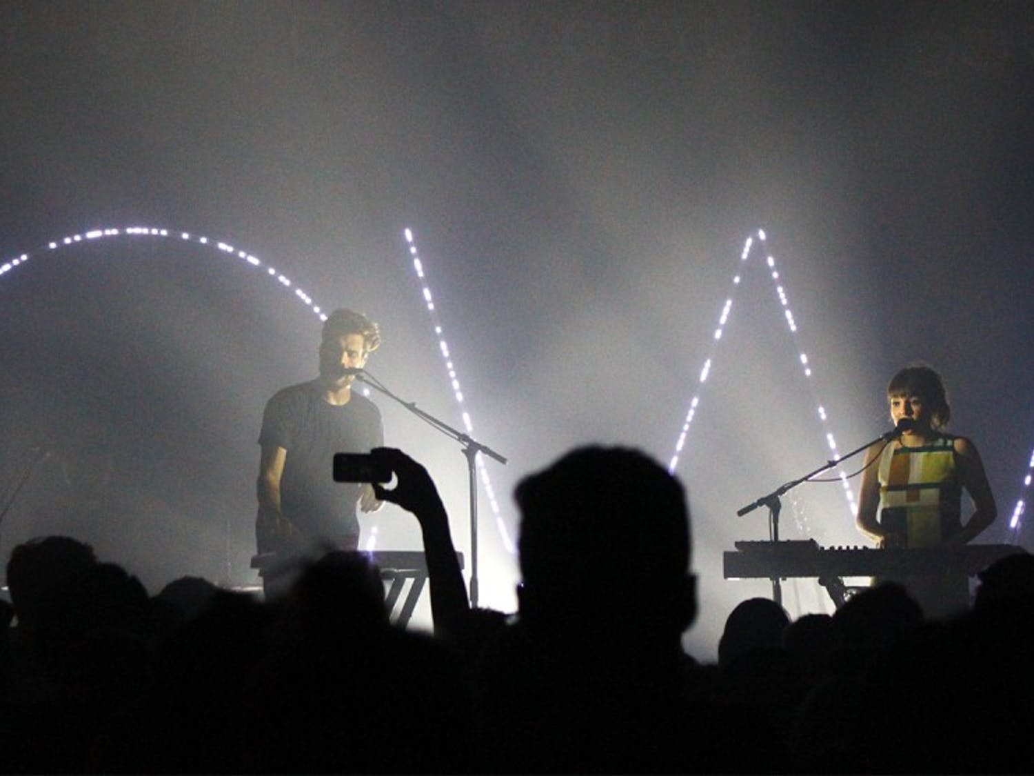 Oh Wonder and LANYperformed at Cat's Cradle on Wednesday night.