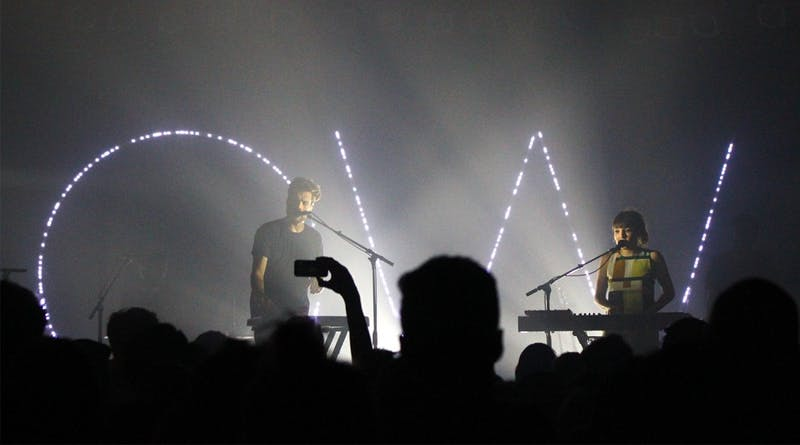 Oh Wonder and LANY performed at Cat's Cradle on Wednesday night.