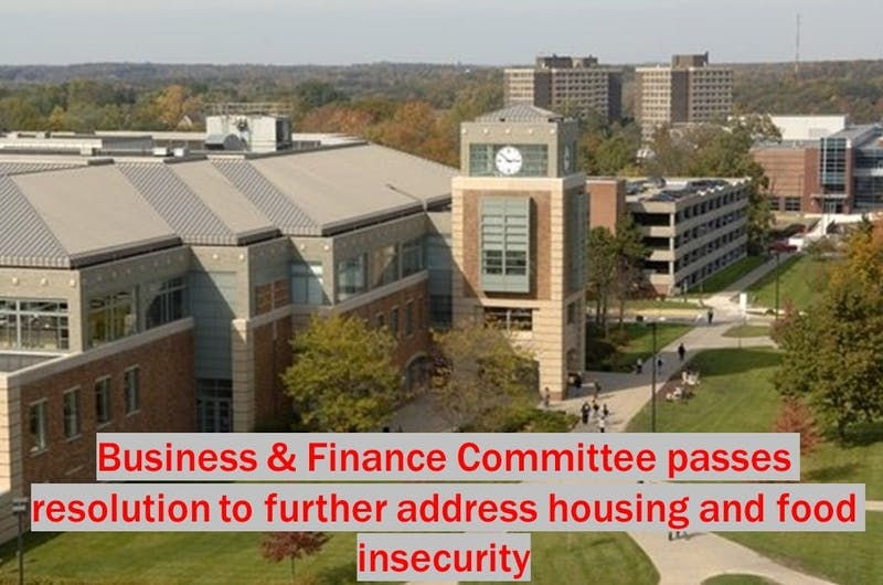 Resolution 106-10, fundraising matching for the Student Emergency Fund, passes in the Business and Finance Committee meeting on Tuesday, Nov. 12.