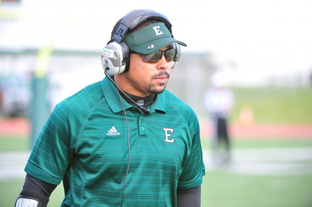 Report: WMU to hire EMU running backs coach Mike Hart