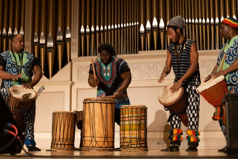 18th Annual Color of Drums hosted by the Poetry Society at EMU