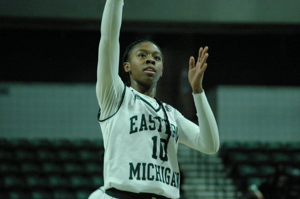 EMU women's basketball finishes with winning record