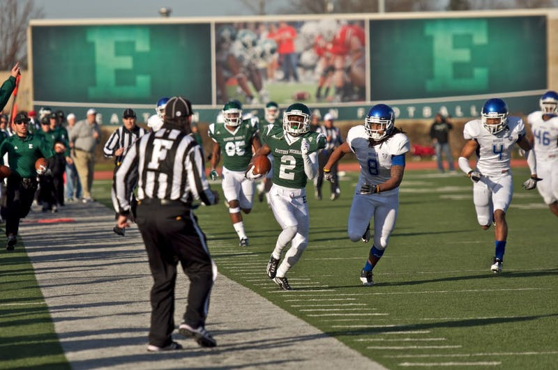 This Saturday, Senior Day for the Eagles, ended with EMU putting itself in position to possibly make it to a bowl game this year with their 30-17 win over the Buffalo Bulls.