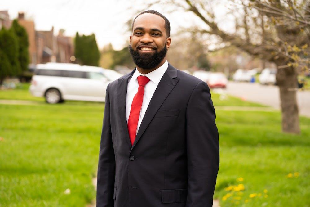 EMU alumni Daivon Reeder is running for Detroit City Council