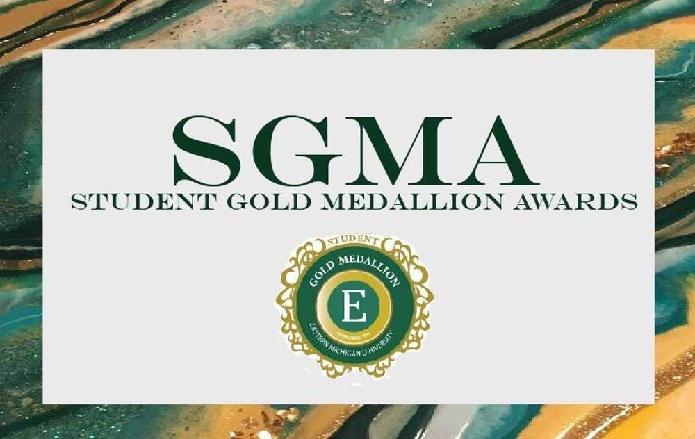 EMU students honored in the 25th annual Student Gold Medallion Awards