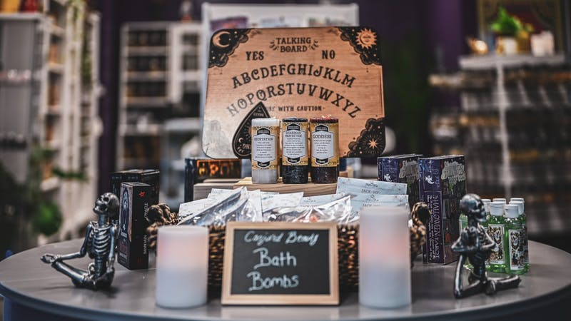Get into the spooky season with a spirit board from The Conjure Goddess.