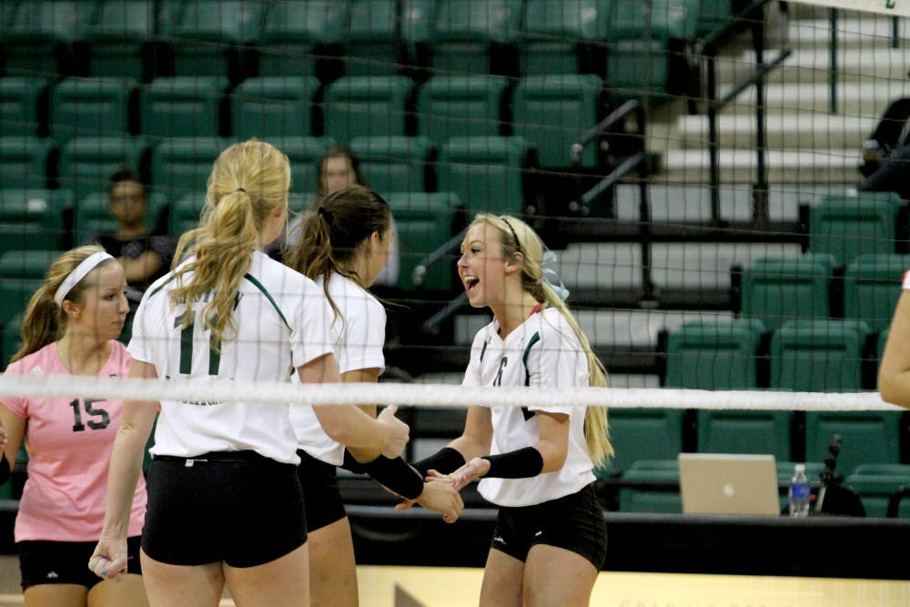EMU vollyball falls 3-1 to Akron
