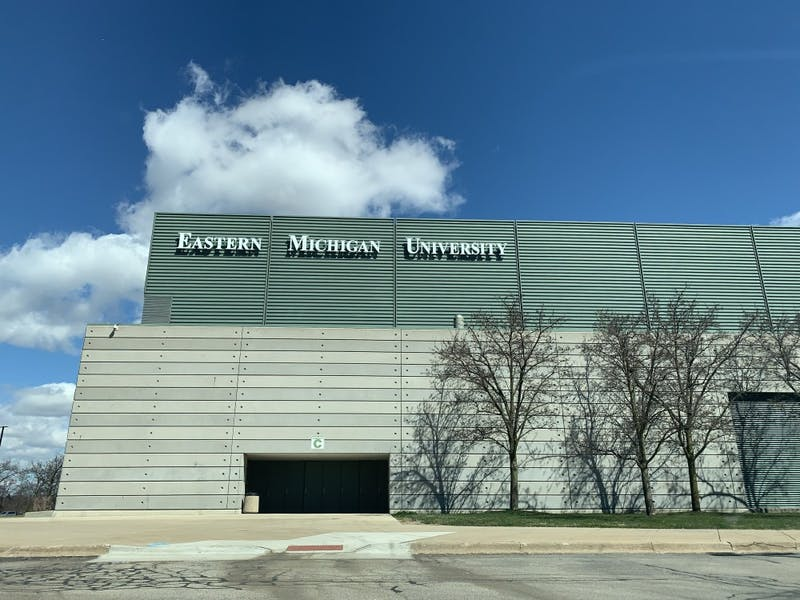 Eastern Michigan's Convocation Center in Ypsilanti, Michigan.