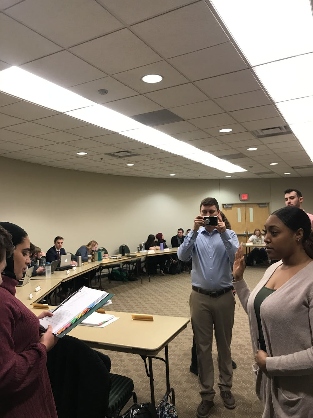 Student Government approves delegate from the Black Student Union