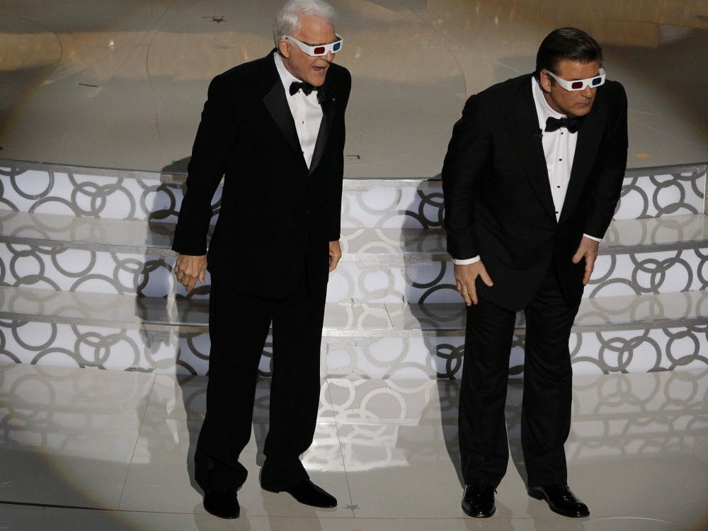 Alec Baldwin and Steve Martin host the 82nd Academy Awards.