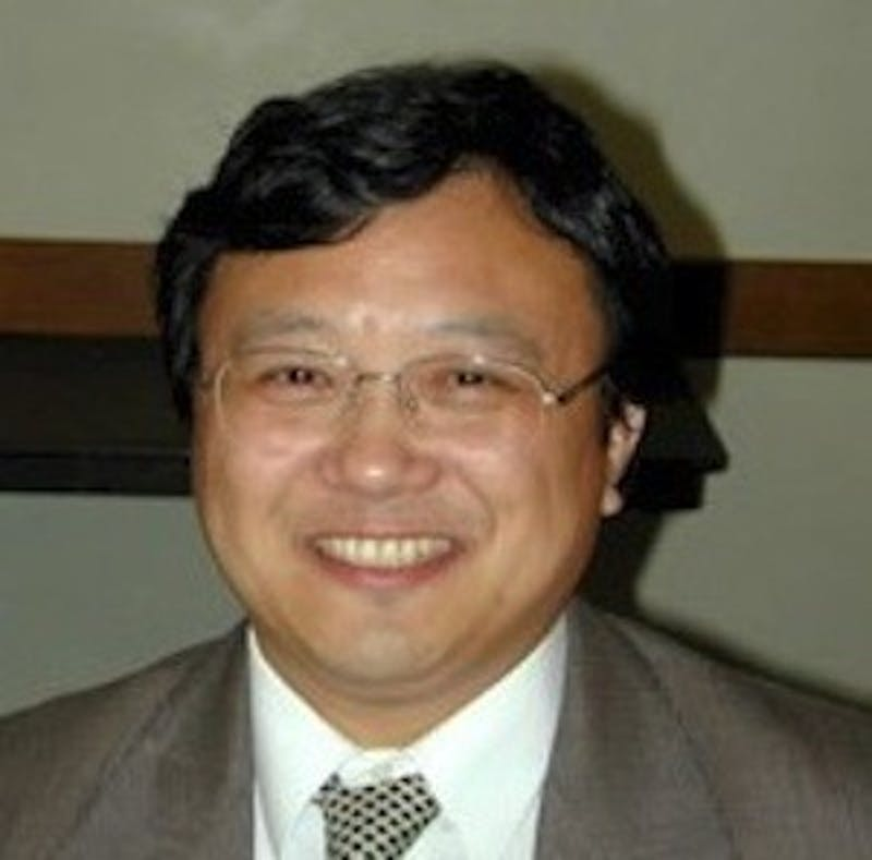 Yichun Xie, director of Eastern Michigan's Institute for Geospatial Research and Education.