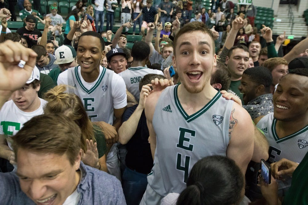 Eagles off to Cleveland following win over Toledo