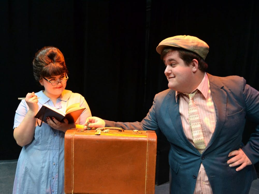 Kasey Donnelly as Dolly and Dakotah Myers as Francis.