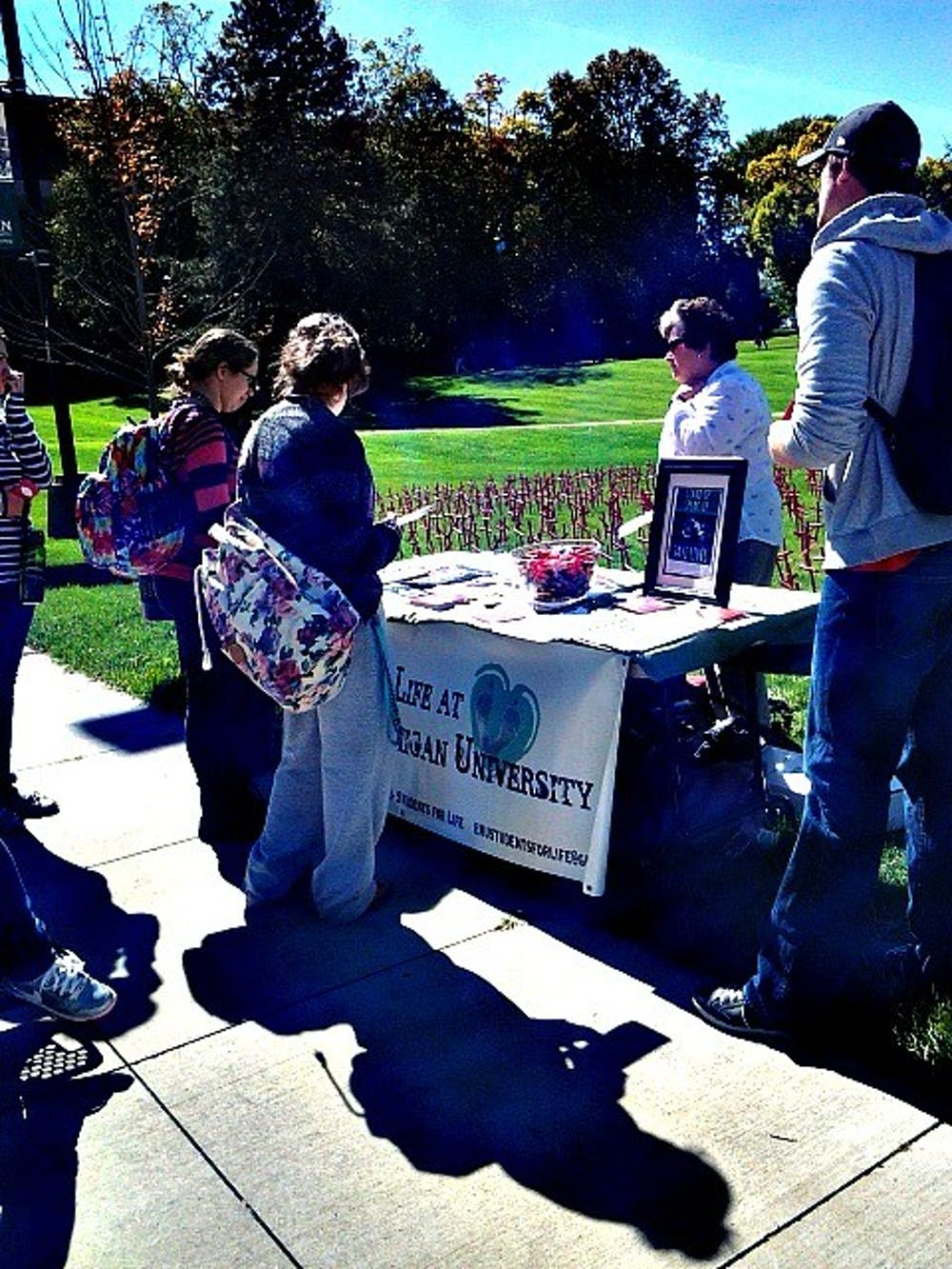 Students for Life's Planned Parenthood Project comes to EMU