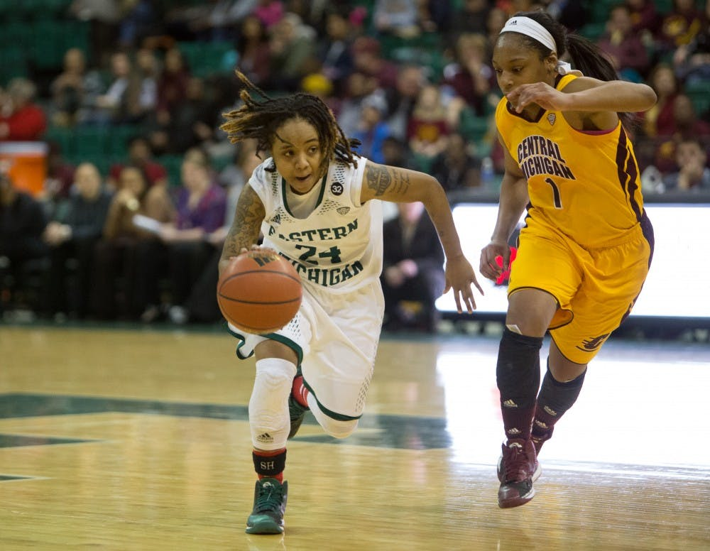 Lady Eagles roll the Chippewas 85-64