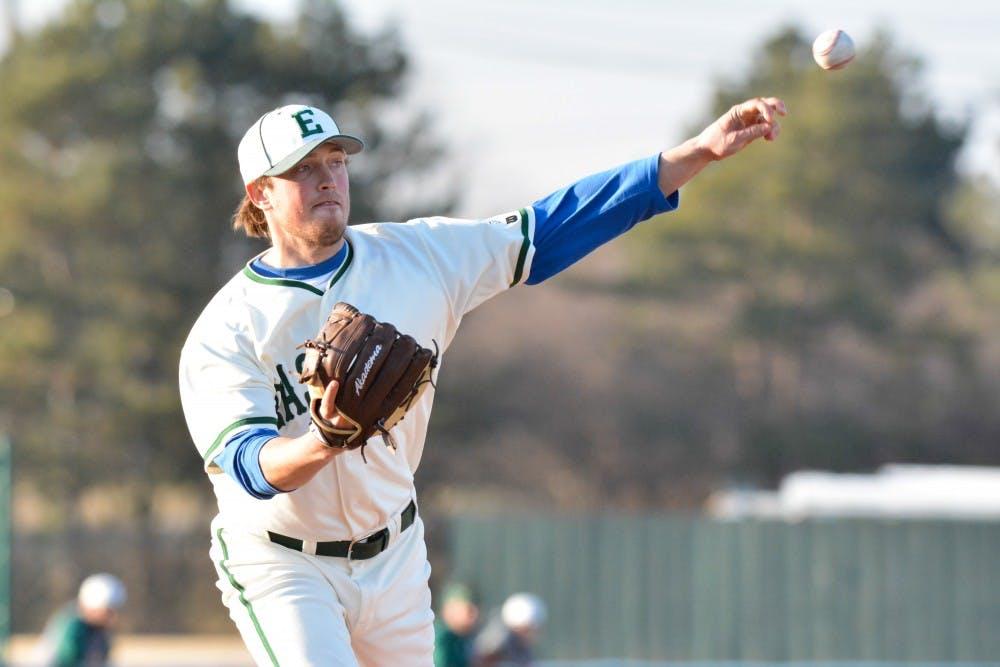 EMU baseball wraps up week with losses vs. KSU, MSU