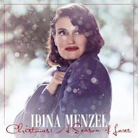 "The cover for Idina Menzel's Christmas album, ""Christmas: A Season of Love""."