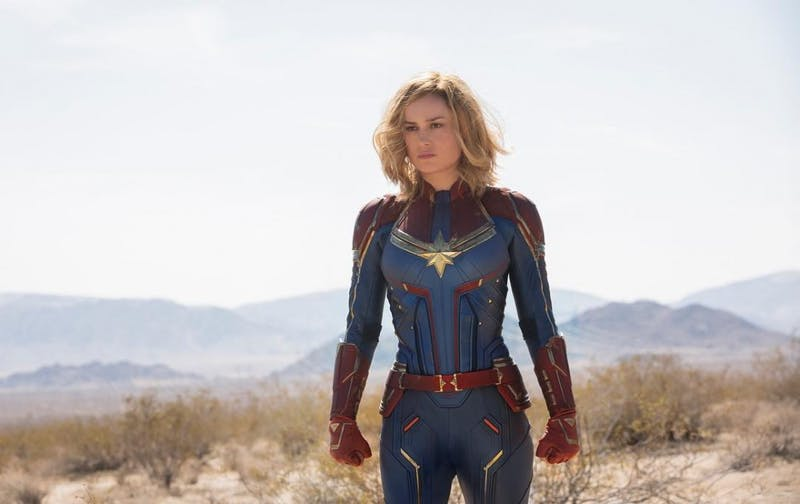 "@captainmarvelofficial on Instagram | Brie Larson as Captain Marvel in the trailer for ""Captain Marvel""."