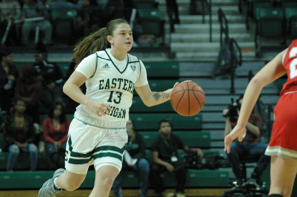 EMU women's basketball loses a close one after Youngstown State comeback on the road