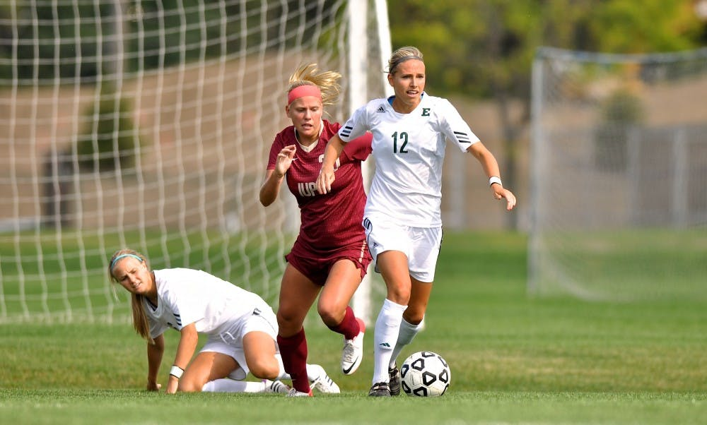 Senior defender Jessica Thomas is ready for the tough games