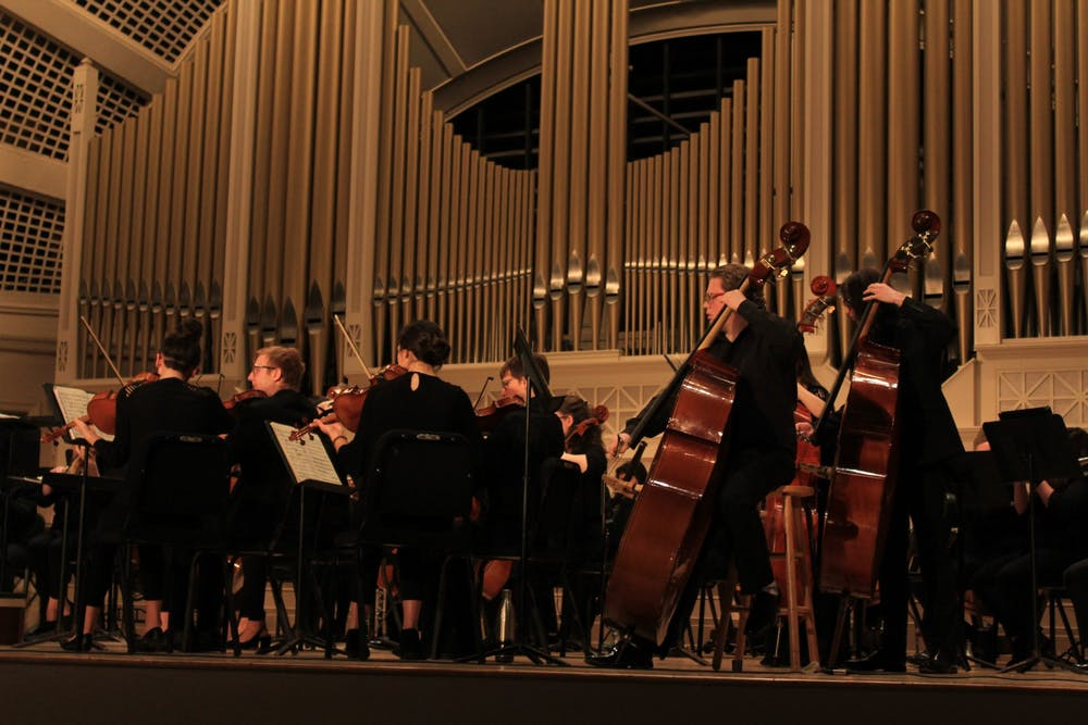 EMU Symphony Orchestra Performs in Pease Auditorium