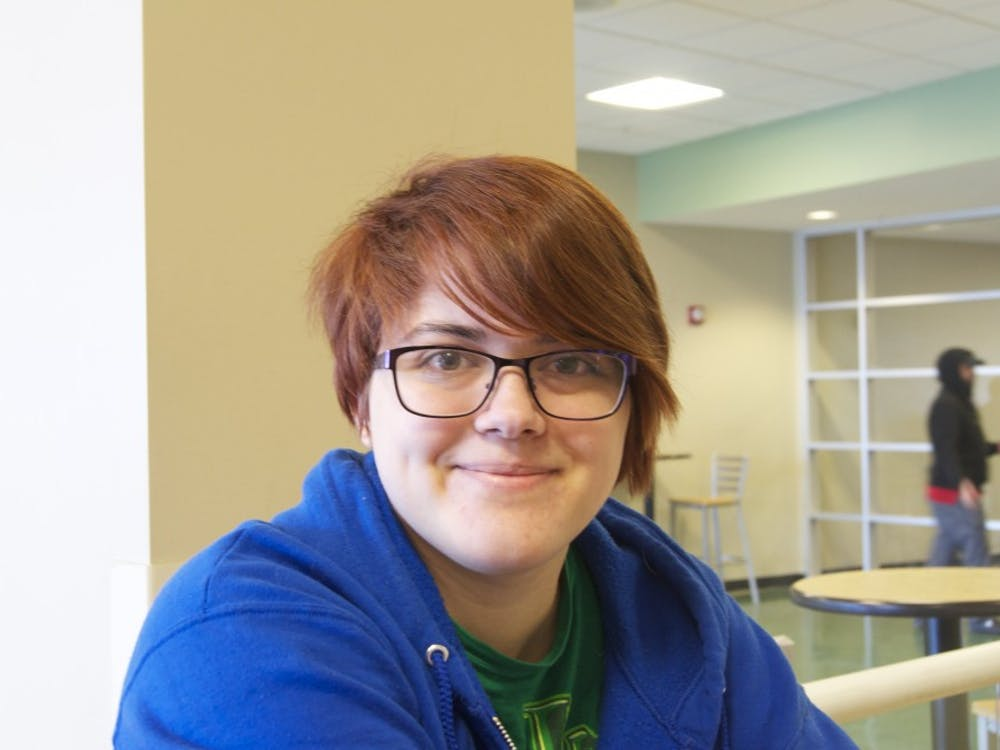 """""""It's not one movie. It's the """"Lord of the Rings"""" series, because I really like fantasy.""""Amanda Blohm, freshman, psychology"""