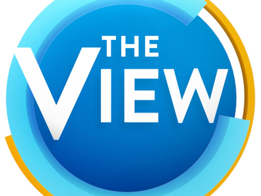 "This logo for ""The View"" has been used since 2015. Photo retrieved from Fandom."