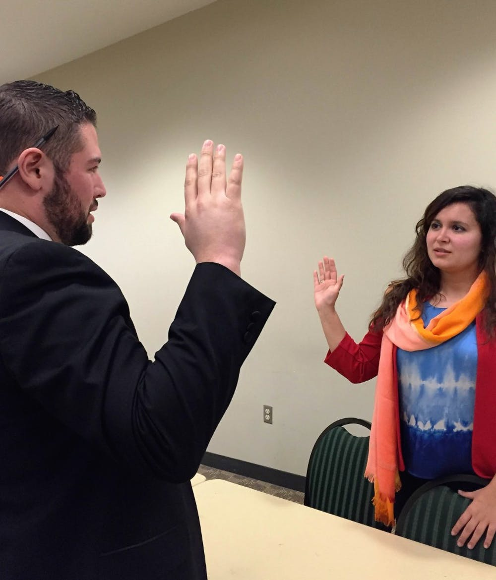 Student senate hears appeal from NAACP