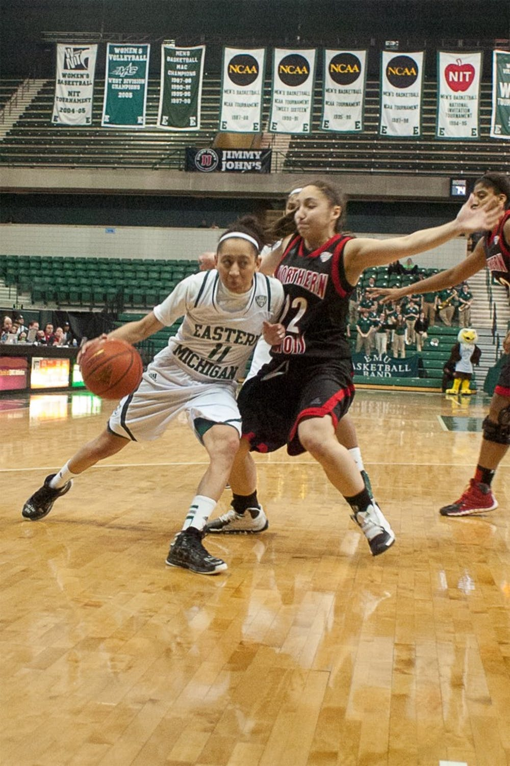 EMU women's basketball team ousted in first round of MAC tourney