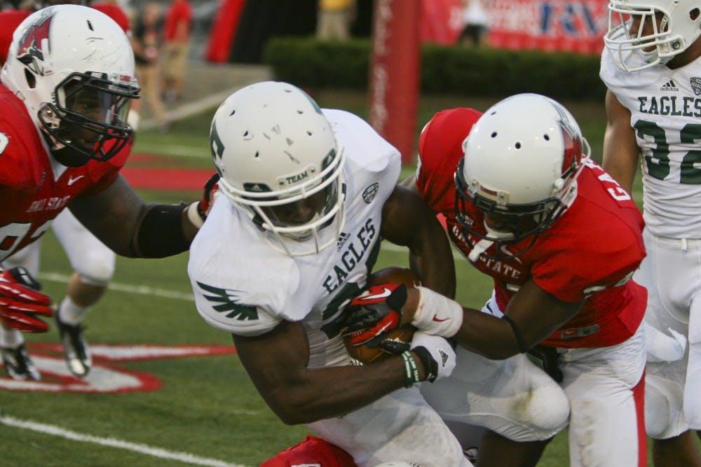 EMU football team falls short against Ball State Cardinals in 37-26 loss