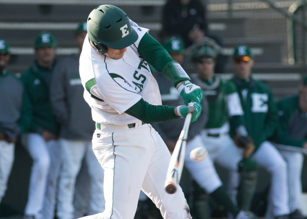 Eagles drop both games of double header to Kent State