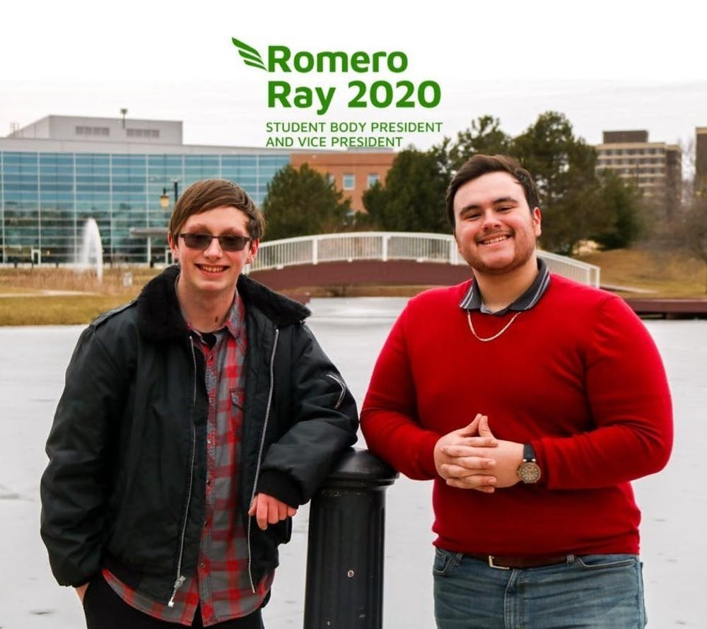Luis Romero and Colton Ray elected as student body president and vice president