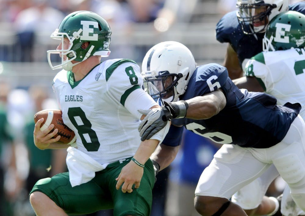 EMU football preps for Illinois