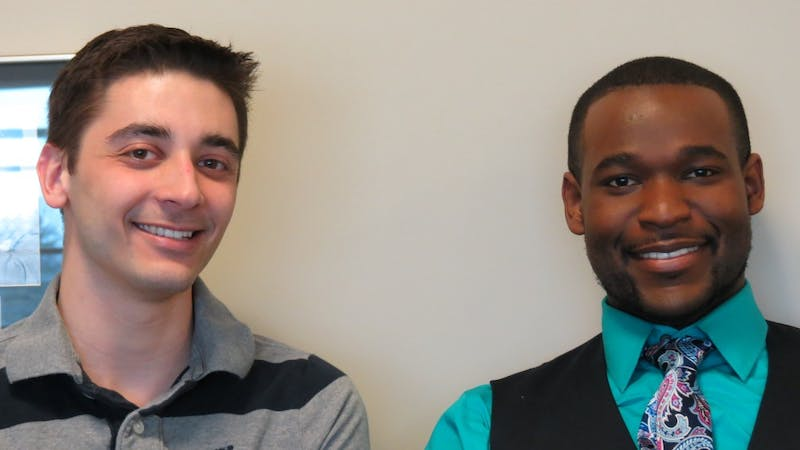 Eastern Michigan University Student Government Speaker of the Senate, Leo Cartier (left), introduced a resolution to the Senate to impeach Student Body President Matthew Norfleet (right) Jan. 29, and less than a week later Cartier withdrew the resolution.
