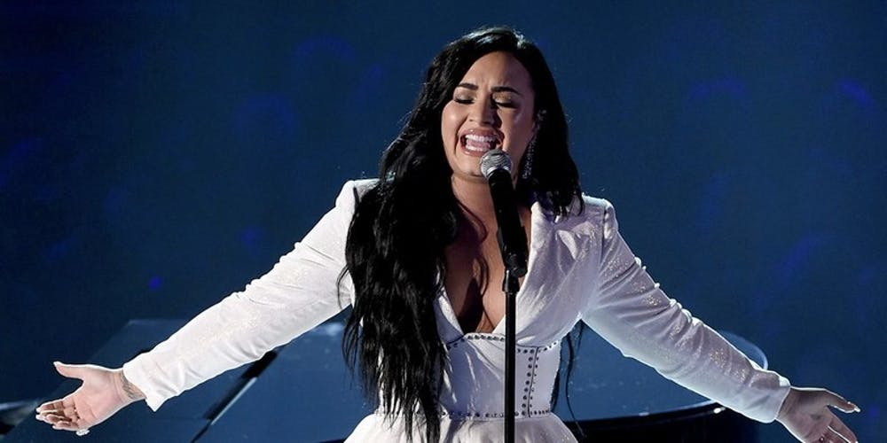 Review: Demi Lovato debuts heartfelt song at the 62nd Annual Grammy's