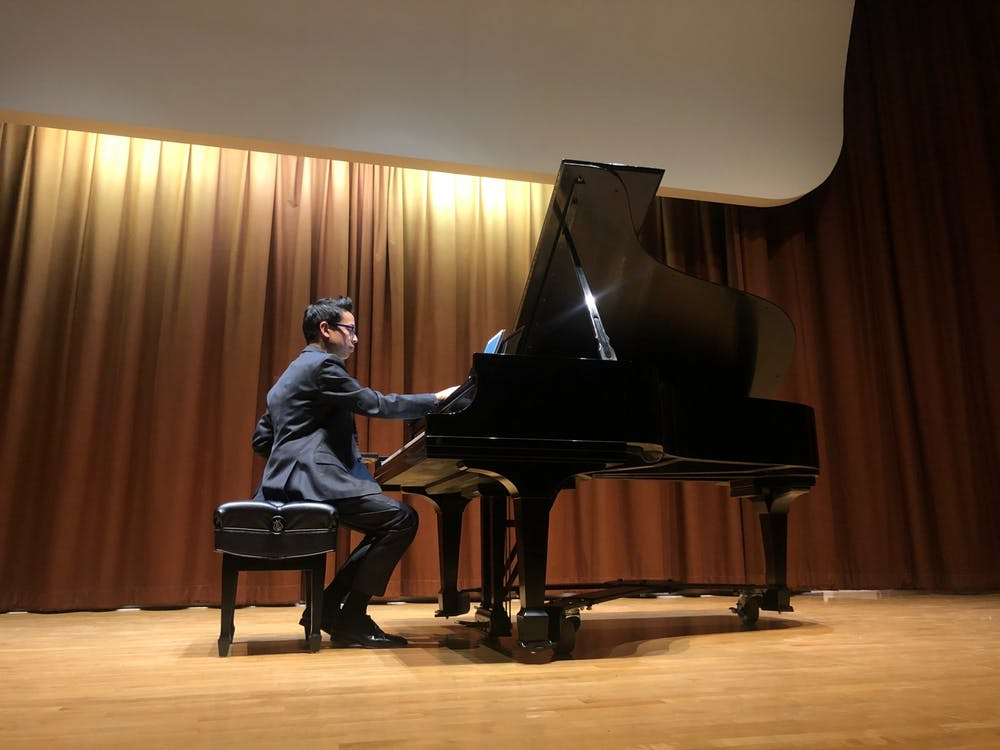 Jerry Wong gives the crowd a night to remember, with an outstanding piano recital.