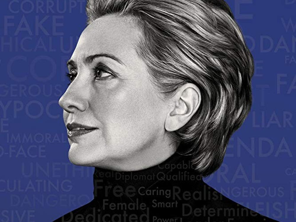 "Promotional Poster for Hulu's ""Hillary"" — Retrieved from IMDb."