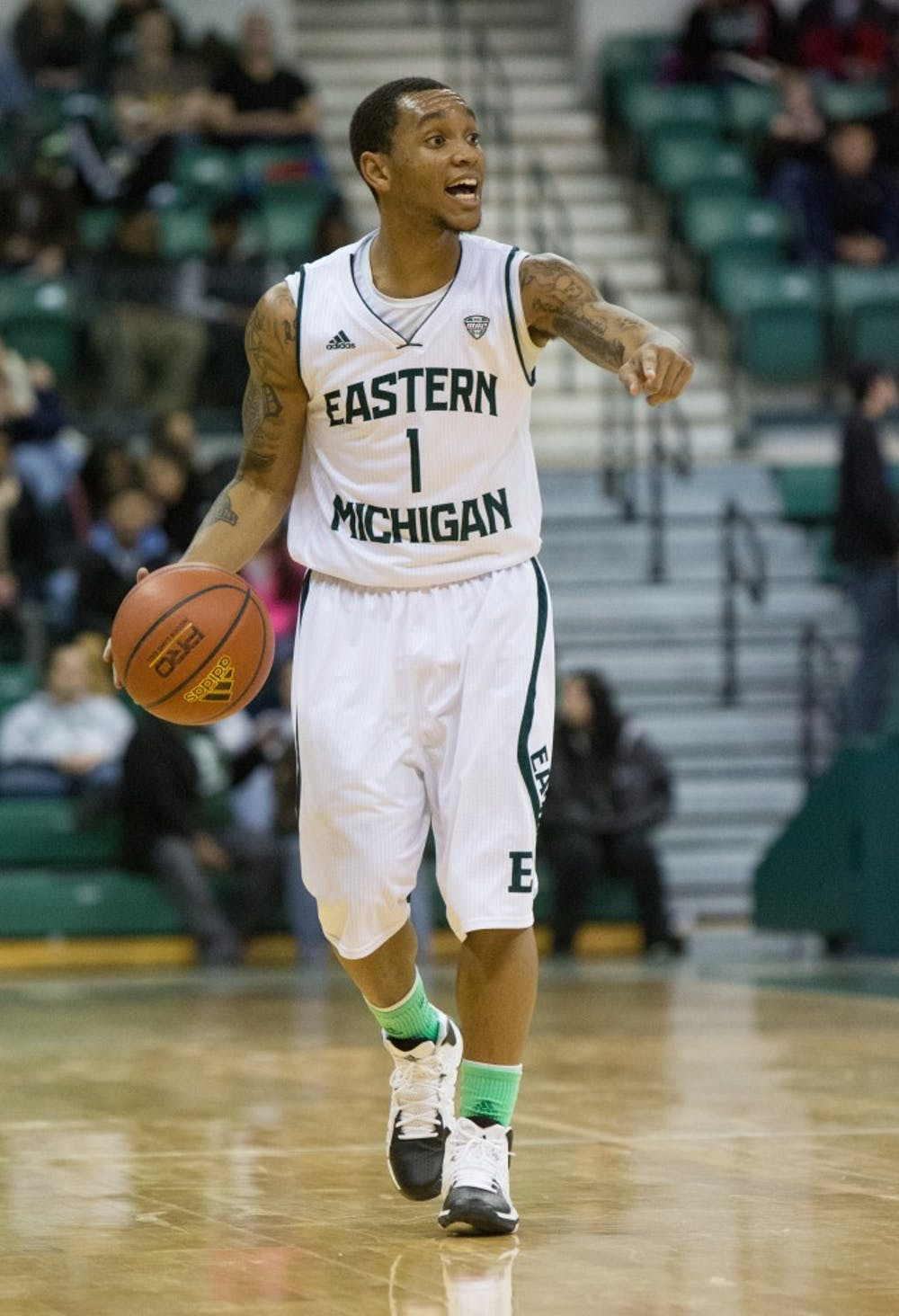 Talley steps up in EMU's overtime win