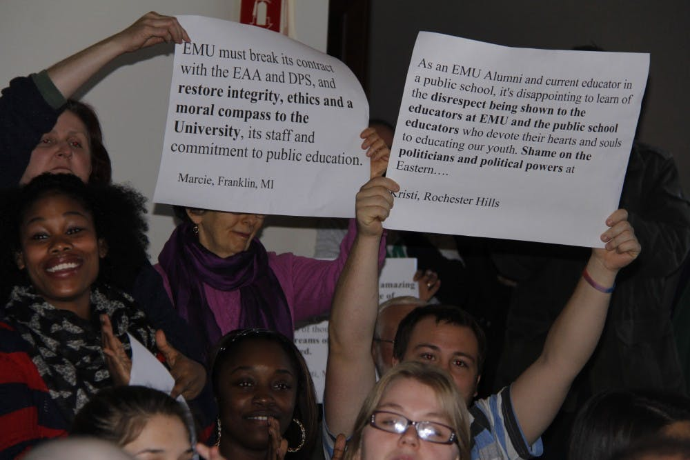Students and faculty voice opinions on EAA