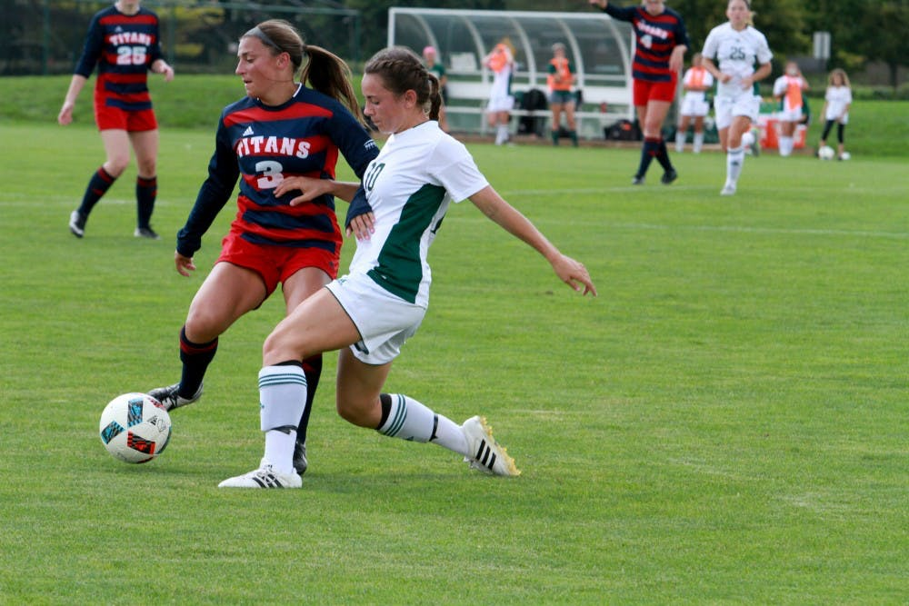Eagles women's soccer defeats Kent State in overtime