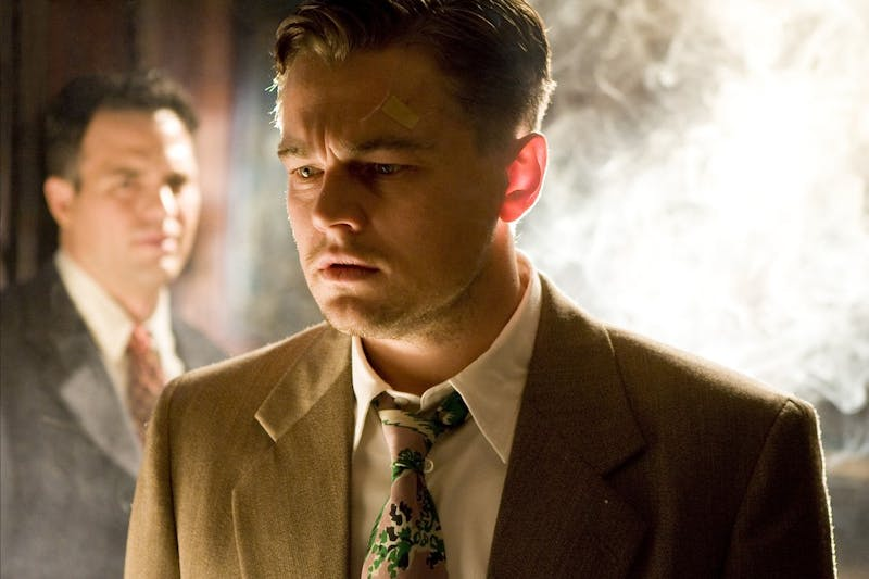 Chuck Aule (Mark Ruffalo, left) and Teddy Daniels (Leonardo DiCaprio) are U.S. Marshals sent from the mainland of Boston to investigate a mysterious disappearance at the Shutter Island Ashecliffe Hospital for the criminally insane in the thriller based on the Dennis Lehane novel by the same name.