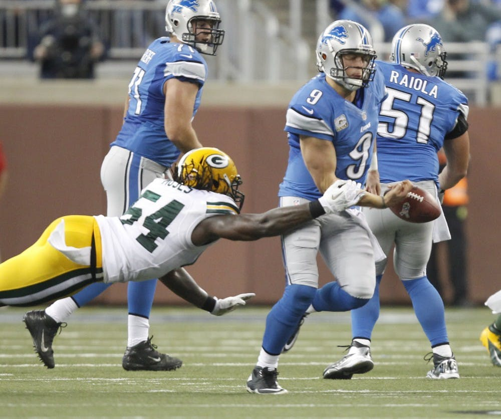 Stafford shares the blame for the Lions' losing season